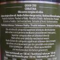 Extra Virgin Olive Oil Gran Cru La Fenice Coratina Galantino