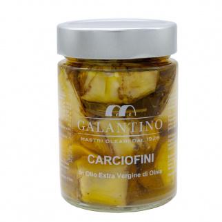 Artichauts à l'Huile d'Olive Extra Vierge 310 gr
