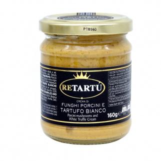 Crema di Funghi Porcini e Tartufo Bianco 160 gr