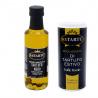 Set Truffe Noire: Poudre de Truffe d'été 100 gr et Condiment  à base de huile d'olive extra vierge 100 ml