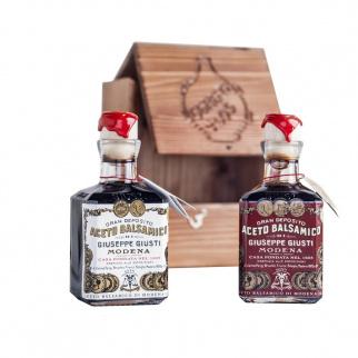 Duetto Rustico Balsamic Vinegar of Modena Giuseppe Giusti 250 ml x 2