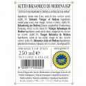 Duetto Rustico Aceto Balsamico Giuseppe Giusti 250 ml x 2