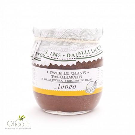 Black Taggiasche olives Paste 180 gr