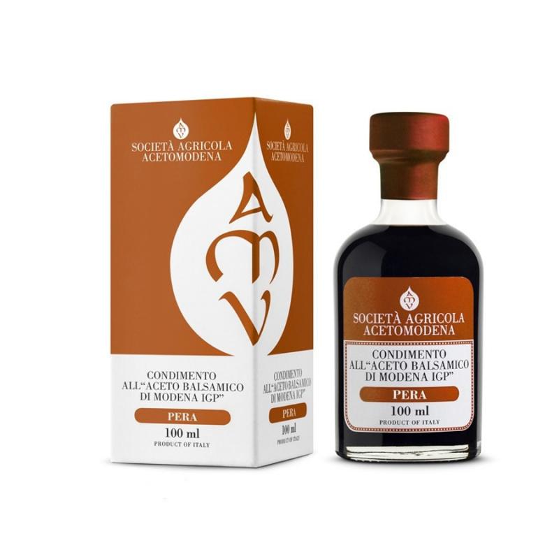 Condimento all' Aceto Balsamico di Modena IGP aromatizzato alla Pera
