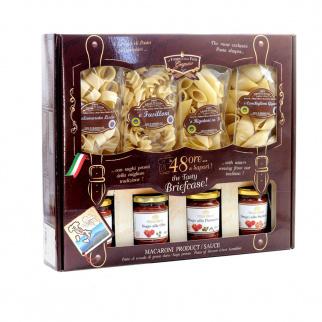 48 Ore di Sapori Pacco Sorpresa con Pasta di Gragnano IGP 250 gr e sughi pronti 180 gr