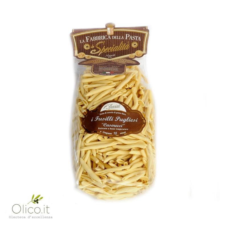 """Apulian Fusilli """"Caserecci"""" Pasta"""