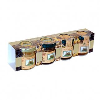 Sicilian Black Bee Winter honey Tasting Set 40 gr x 4