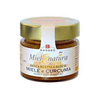 Miel d'Acacia et Curcuma 200 gr
