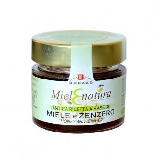 Miel d'Acacia et Gingembre 200 gr