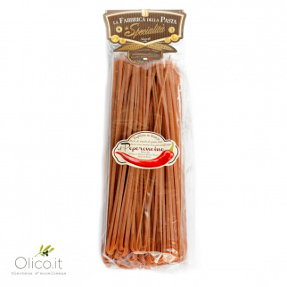 Pâtes Linguine au Piment Rouge 500 gr