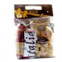 Sacco Scorta con Pasta di Gragnano IGP 500 gr Passata di Pomodoro Italiano 690 gr e Canovaccio