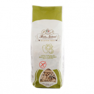 Ditali Gluten Free Pasta with Multilegumes flour 250 gr