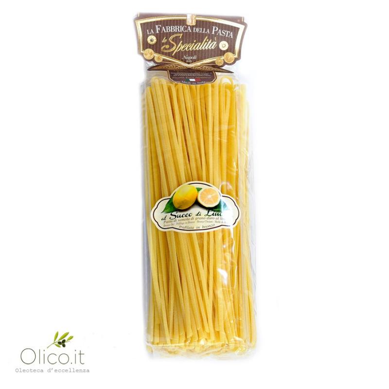 """Pâtes """"Linguine"""" aux Citrons de Sorrento"""