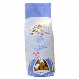 Conchiglie Senza Glutine con farina di Amaranto, Teff e Quinoa 250 gr