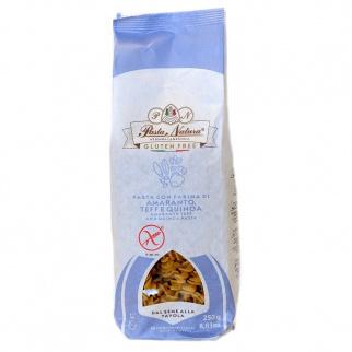 Fusilli Gluten Free Pasta with Amaranth, Teff and Quinoa flour 250 gr