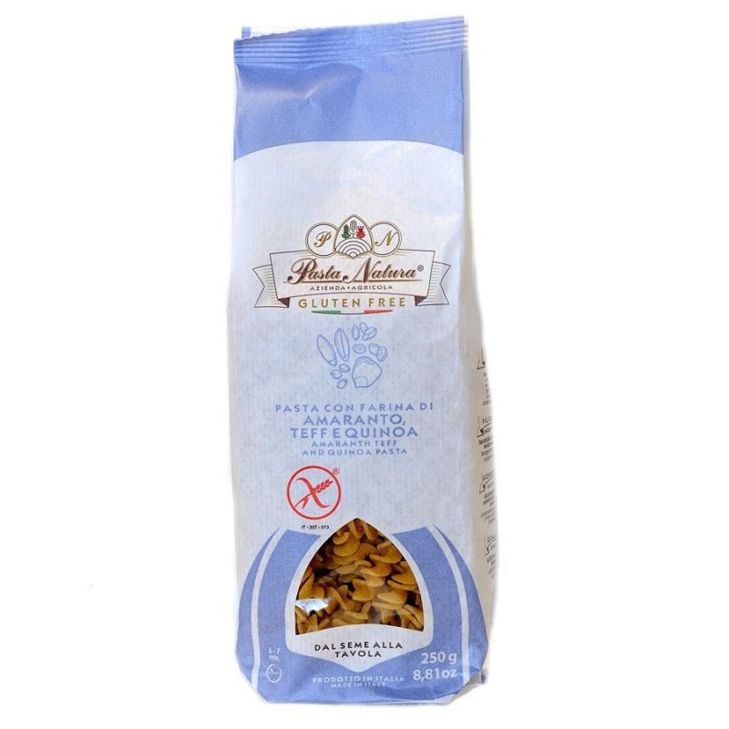 Fusilli senza glutine con farina di Amaranto, Teff e Quinoa