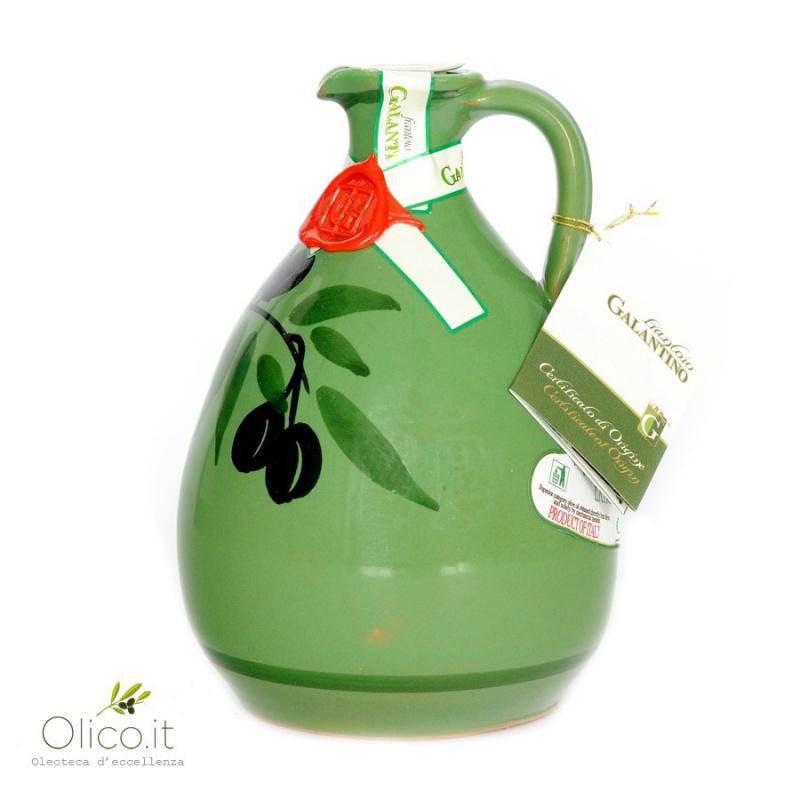 """Orcio in Ceramica """"Tony"""" con Olio Extra Vergine"""