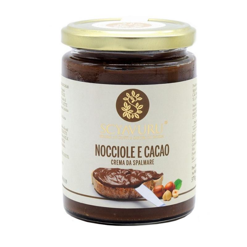 Crème au chocolat et noisettes 370 gr