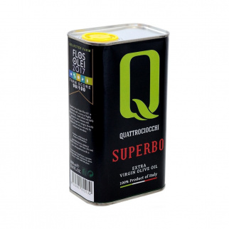 Superbo natives Olivenöl 100% Moraiolo Quattrociocchi