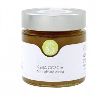 Confettura Extra di Pera Coscia 250 gr