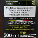 Quattrociocchi Monocultivar Olive Oils Selection       Delicato - Superbo - Olivastro