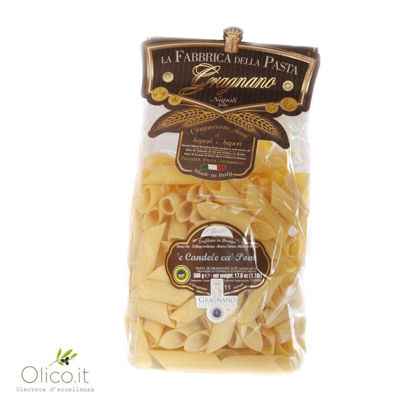 "Penne Liscie ""Candele ca' Pont"" - Gragnano Pasta PGI"