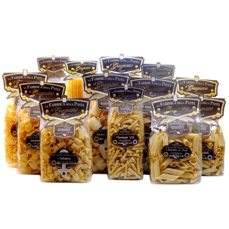 Megapack Pasta di Gragnano - 13 pacchi da 500gr