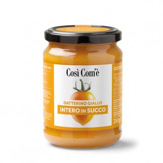 Pomodoro Datterino Giallo Intero in Succo 350 gr