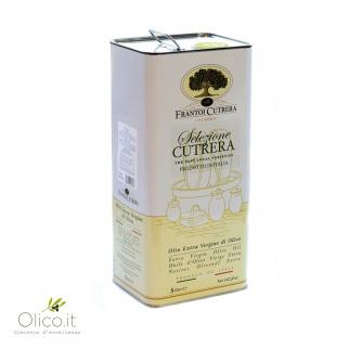 Extra Vergine Olijfolie van Geselecteerde Cutrera Olijven 5 lt