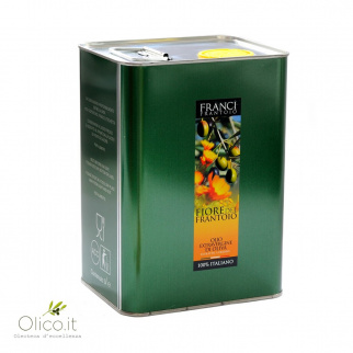 Aceite de oliva virgen extra Fiore del Frantoio Franci   3 lt