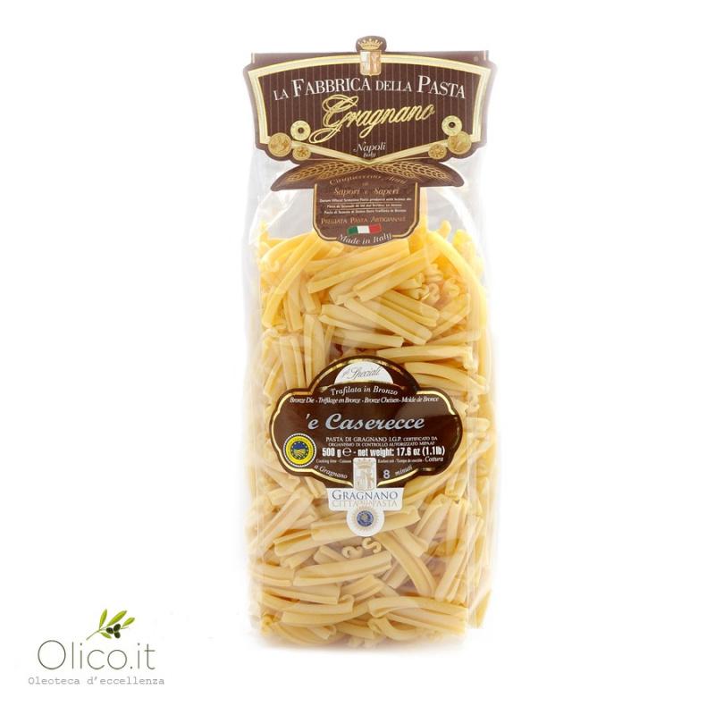 Caserecce -  Pâtes de Gragnano IGP