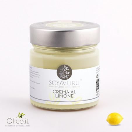 Lemon sweet cream