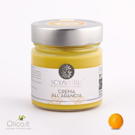 Orange sweet cream