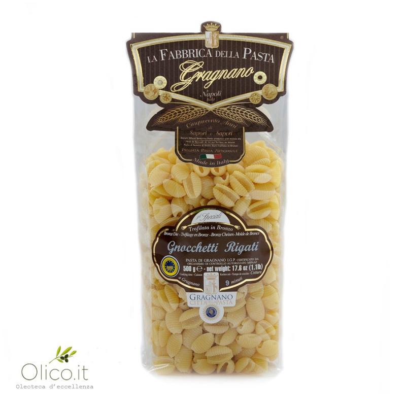 Gnocchetti Sardi Rigati -  Pâtes de Gragnano IGP