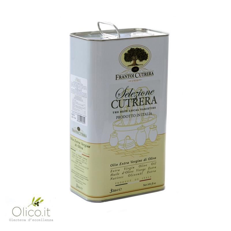Huile d'Olive Extra Vierge Selezione Cutrera Sicile